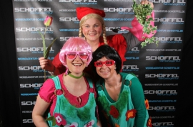Steinachtalhalle Stadtsteinach - Fotowall zum Weiberfasching 2014